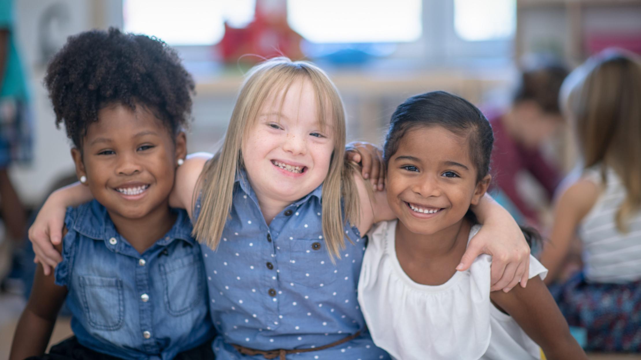 Best friends in preschool