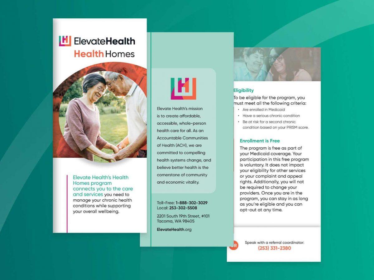 Health homes brochure cover